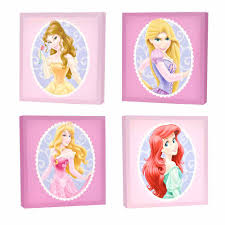 toddler wall decor walmart com disney princess 4 pack canvas wall art