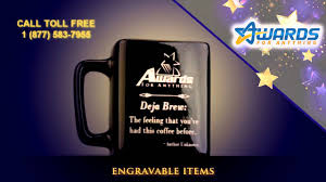engravable items awards for anything engravable items