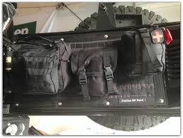 jeep tailgate storage jeep momma blog molle panel u0026 storage bags finally installed