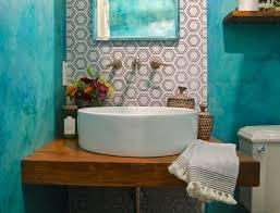 Vanity Diy Ideas Rustic Bathroom Photos Hgtv Neutral Powder Room Vanity With