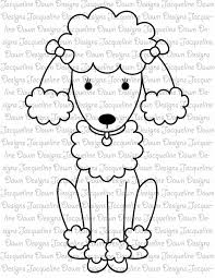 poodle coloring pages coloring pages gallery