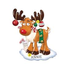 egg nog moose ornament ornaments callisters