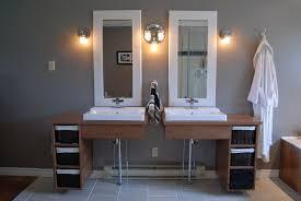 handmade custom floating bathroom vanities by clark wood creations
