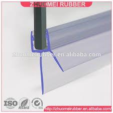 5 10mm frameless shower door sweep bottom seal wipe drip rail