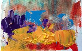 Color Painting by Wall Oil Painting Color Texture Abstract Wallpaper
