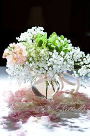 baby s breath centerpiece who says baby s breath is passé tamara s wedding