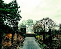Botanical Garden In Bronx by A Gloomy Day In December At The New York Botanical Gardens In