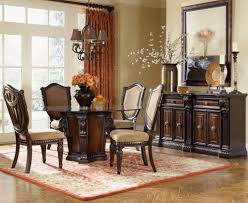 traditional round glass dining table dining room table designs with glass top traditional round and