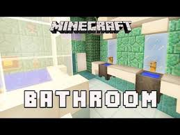 minecraft bathroom ideas minecraft tutorial how to build a modern house ep 11 small