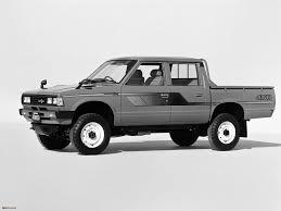 datsun pickup pickup 4wd double cab jp spec 720 1980 u201385 pictures