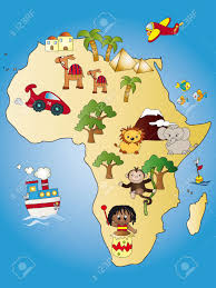 Africa Map by Africa Map Stock Photo Picture And Royalty Free Image Image
