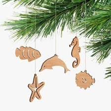 wooden sea ornaments australian made gifts