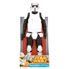 jakks pacific star wars 18 inches scout trooper figure walmart com