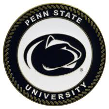 Hinkle Chair Company Penn State Nittany Lions Collegiate Rocking Chair Maple Finish