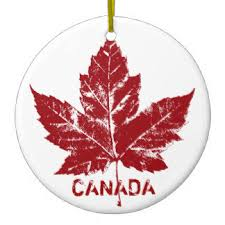 canada maple leaf ornaments keepsake ornaments zazzle