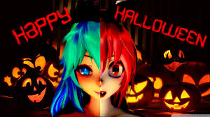 happy halloween artwork mmd happy halloween models dl gift youtube