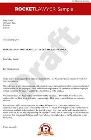 Reference Letter letter