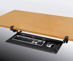 keyboard mount for desk roi ergonomics keyboard arms and platforms desk mount tray