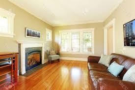 rectangle dark brown finish cherry wood coffee table gray window