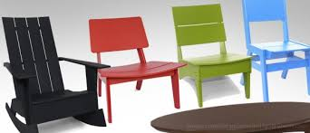 Loll Designs Modern Recycled Plastic Outdoor Furniture  US - Patio furniture made in usa