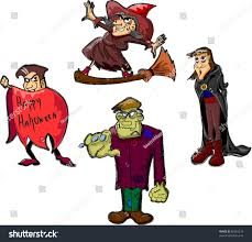 halloween vector character set vector characters vampire cartoon