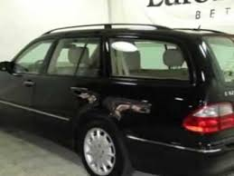2003 mercedes e320 review 2003 mercedes e class e320 4matic wagon bethesda md