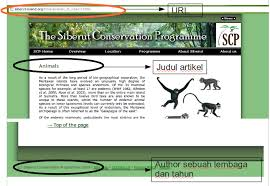daftar pustaka merupakan format dari cara membuat daftar pustaka dari bahan yang diambil dari internet
