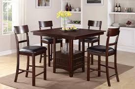 Square Dining Room Set by Dining Tables 9 Piece Square Dining Set Counter Height Table