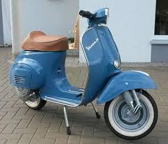 vespa 50 l ral 5023 fernblau blue paint vintage vespa
