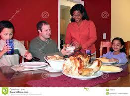 thanksgiving family dinner royalty free stock image image 1094346