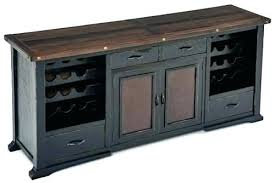 sofa table with wine rack buffet table with storage buffet wine rack buffets with wine storage