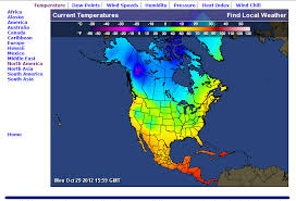 caribbean weather map america weather map current temperatures of america f