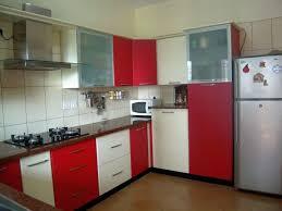 red and white kitchen designs kitchen cabinet in bangalore elements kitchens kitchen design