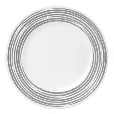Corelle Dishes Ebay Boutique Brushed 16 Pc Dinnerware Set Silver Corelle