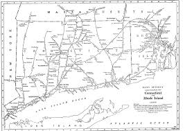 New York Central Railroad Map by P Fmsig 1948 U S Railroad Atlas