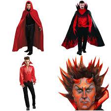 fire costume halloween diablo devil halloween costume scary mens fancy dress fire