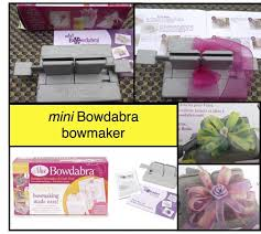 hair bow maker mini bow dabra bow maker complete hair bow kit reg 19 99 now