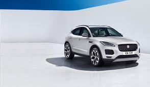 jaguar jeep 2018 jaguar u0027s all new 2018 e pace suv does barrel roll sets world record