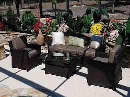 Condo Patio Furniture Toronto New Ideas La Z Boy Outdoor Hand Woven Emett Outdoor Piece Dining