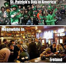 Meanwhile In America Meme - st patrick s day cat memes meme st patrick s day in america vs
