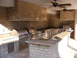 Outdoor Kitchen Construction Premade Outdoor Kitchen Gallery And Backyard Construction Pictures