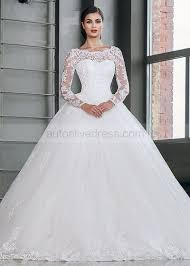 corset wedding gown illusion neck sleeves corset back ivory beaded lace