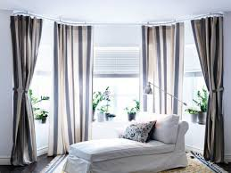 Panel Curtain System Bedroom Built In Around The Window Ikea Panel Curtains Ikea
