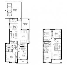 4 Bedroom Two Storey House Plans Best Single Story House Plans With Porches 4 Bedroom Floor Wrap
