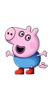 draw george peppa pig cartoons kids easy step
