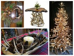 Elegant Chandelier Candle Holders Antler Decorations Ideas Rustic