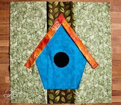 birdhouse quilt pattern birdhouse quilt square 1 2create in color