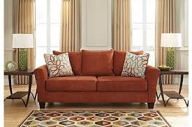 Rust Sofa The Corson Sofa From Ashley Furniture Homestore Afhs Com The