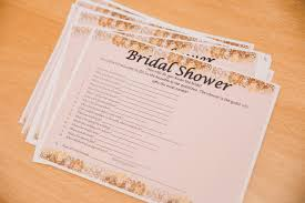 bridal shower groom questions coffee shop theme bridal shower inspiration bridesmaids confession