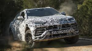 off road lamborghini 2019 lamborghini urus prototype testing off road hd